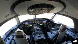 Кабина пилотов Боинга-787
