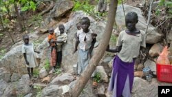 South Sudanese children displaced from their homes. (file photo)