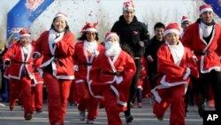 2017圣诞节在中国、台湾和亚洲(33图)