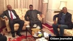 Shugabannin majalisun tarayyar Najeriya sun ziyarci Shugaba Buhari a London