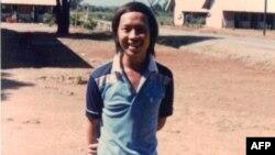 Tiến sĩ Võ Tá Đức lúc ở trại tị nạn Bataan (Philippines) trước khi sang Mỹ định cư