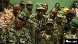 Les nouveaux hommes forts de Bamako, ORTM, 22 mars 2012