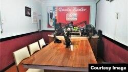 Ganie Radio yang berlokasi di Kabupaten Simalungun, Sumatera Utara (foto: Meli S).