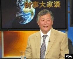 中国民主运动海外联席会议主席魏京生 (美国之音资料图片)