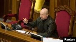 Người đứng đầu Hội đồng An ninh quốc gia và Quốc phòng Ukraine, Oleksander Turchynov.