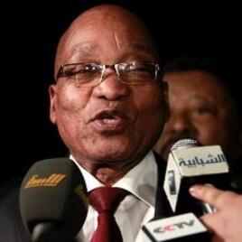 AU Takes Truce Plan to Libyan Rebels