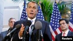 Ketua DPR AS, John Boehner dari partai Republik mengindikasikan bahwa DPR AS akan menyetujui kesepakatan yang dicapai Senat AS, Rabu (16/10).