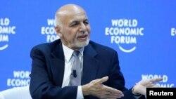 د افغانستان جمهور رئیس محمد اشرف غني د سویس په اقتصادي نړیواله کې