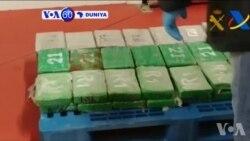 VOA60 DUNIYA: 'Yan Sanda Sun Yi Kamun Hodar Iblis Ta Cocaine Mafi Yawa Cikin Shekaru 18 A Kasar Columbia