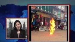 VOA连线:流亡藏人在尼泊尔自焚引起欧洲关注