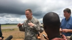 US Troops Arrive in Liberia to Help Fight Ebola