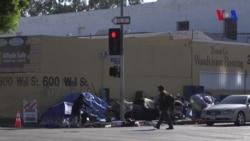 Hogar para 28000 ciudadanos sin techo en Los Angeles