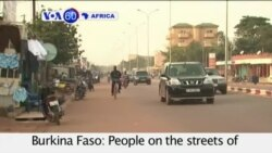 VOA60 Africa - General Behind Burkina Faso Coup Surrenders - October 2, 2015