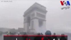 روایت درگیریهای پاریس از دریچه دوربین پلیس پایتخت فرانسه