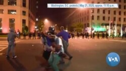 Projectile Fired DC protest