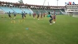 آزادی کپ کے لیے پاکستان کرکٹ ٹیم کی پریکٹس جاری