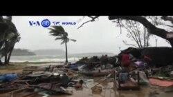 VOA60 DUNIYA: Mahaukaciyar Guguwa a Vanuatu, Maris 16, 2015
