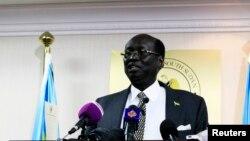 Menteri Luar Negeri Sudan Selatan, Barnaba Marial Benjamin (Foto: dok).