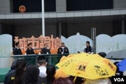城市論壇首次在公民廣場舉行。(美國之音湯惠芸攝)