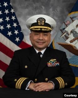 Trung tá Trần Trung Tín. Photo Vietnamese American Uniformed Services Association.