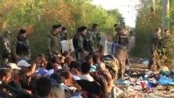 2015-08-23 美國之音視頻新聞:移民獲准在馬其頓登上列車到北歐地區