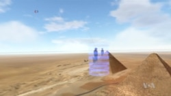 VR Provides Unprecedented Look Inside the Great Pyramid