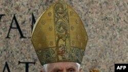 Папа Бенедикт ответит на вопросы телезрителей в Страстную пятницу