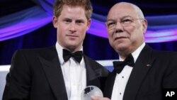 El príncipe Enrique de Gran Bretaña está de visita en la capital estadounidense. [Foto: AP]