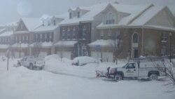 سومین روز متوالی تعطیلی ادارات دولت ایالات متحده درپی بارش برف و کولاک