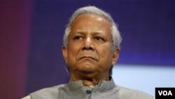 Pendiri Bank Grameen, Muhammad Yunus, pemenang Hadiah Nobel Perdamaian tahun 2006.