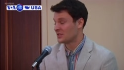 "VOA60 America - President Trump has tweeted that ""no money was paid to North Korea for Otto Warmbier."""