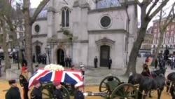 世界各国政要名流周三参加撒切尔夫人葬礼