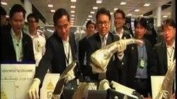 泰國星期日繳獲21.8 公斤重犀牛角