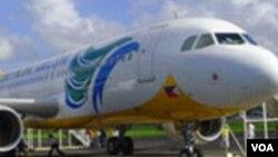 La nouvelle compagnie aérienne de la RDC, Congo Airways, a deux avions Airbus A-320 de ce type