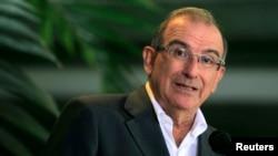 Humberto de la Calle, líder negociador del gobierno en el diálogo de paz con las FARC
