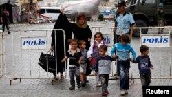 Reyhanlı'daki Suriyeli sığınmacı aile