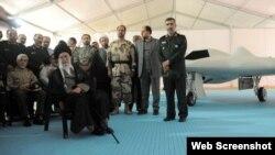 بازدید رهبر ایران از نمایشگاه دستاوردهای هوافضای سپاه پاسداران، ۲۱ اردیبهشت ۱۳۹۳