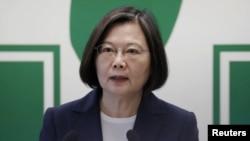 台灣總統蔡英文如何向拜登致賀?