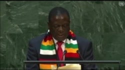 Zimbabwe President Addresses UNGA, Attacks Sanctions as 'Lose, Lose, Game'