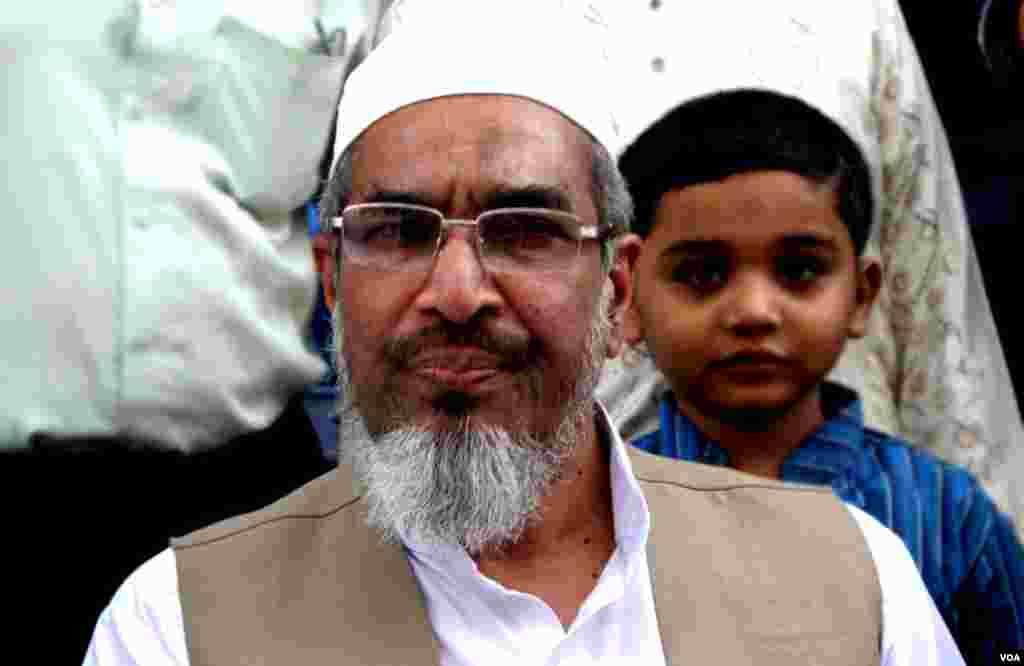 این اے دو سو چھیالیس کراچی سے انتخاب لڑنے والے جماعت اسلامی کے امیدوار راشد نسیم