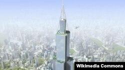 Tòa nhà Sky City sẽ cao 838 mét, cao hơn 10 mét so với tòa Burj Khalifa ở Dubai.