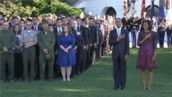 Video of September 11 ceremonies in Washington and New York