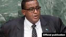 Firayim Ministan Somalia Omar Abdirashid Ali Shamarke