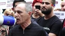 Ռոբերտ Քոչարյանի կողմնակիցների բողոքի ցույցը բարձրագույն դատական խորհրդի դեմ