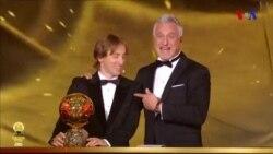"""Luka Modriç """"Qızıl top""""-a sahib oldu"""