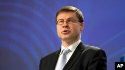 Valdis Dombrovskis, Zëvendës Presidenti i Komisionit të Bashkimit Evropian
