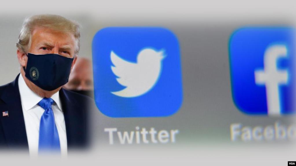 Chiến dịch tranh cử của ông Trump cáo buộc các mạng xã hội có thành kiến chống lại tổng thống.