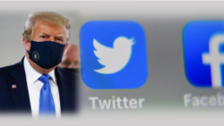 ကုိဗစ္ဆုိင္ရာ မွားယြင္းသတင္းပါတဲ့ သမၼတ Trump ရဲ႕ Post ကုိ Facebook နဲ႔ Twitter ဖယ္ရွား