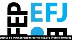 Logo Evropske federacije novinara (Foto: europeanjournalists.org)
