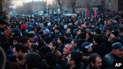 Гюмри, Армения, 15 января 2015
